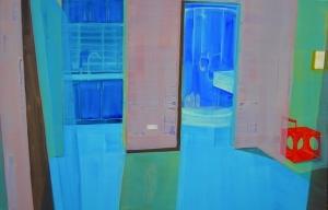 Huang Jiao Nacht,150x230cm,2005