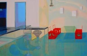 Huang Jiao-Schatten,150x230cm,2005
